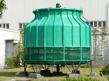 耐腐蚀、强度高圆形逆流式玻璃钢冷却塔的结构特征