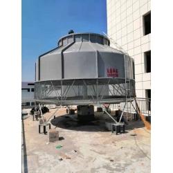 四川眉山彭山500T冷却塔安装现场