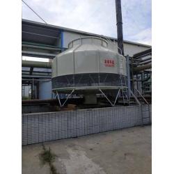 四川眉山GL-300T冷却塔安装现场