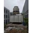 四川什邡淮口80T冷却塔27方玻璃钢水箱水泵管道冷却塔循环系统安装现场